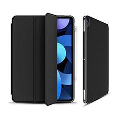 Handytasche Stand Schutzhülle Flip Leder Hülle für Apple iPad Air 4 10.9 (2020) Schwarz