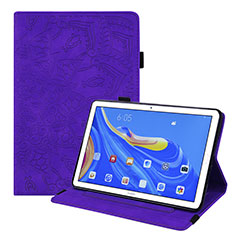 Handytasche Stand Schutzhülle Flip Leder Hülle für Huawei MatePad 10.8 Violett