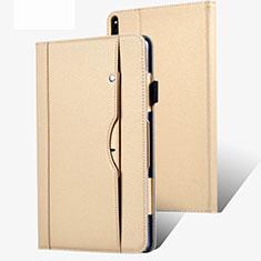 Handytasche Stand Schutzhülle Flip Leder Hülle für Huawei MatePad Pro 5G 10.8 Gold