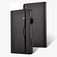 Handytasche Stand Schutzhülle Flip Leder Hülle für Huawei MatePad Pro 5G 10.8 Schwarz
