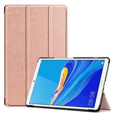 Handytasche Stand Schutzhülle Flip Leder Hülle für Huawei MediaPad M6 8.4 Rosegold