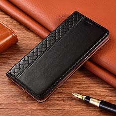 Handytasche Stand Schutzhülle Flip Leder Hülle für Nokia 2.4 Schwarz