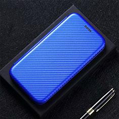 Handytasche Stand Schutzhülle Flip Leder Hülle für Oppo A73 (2020) Blau