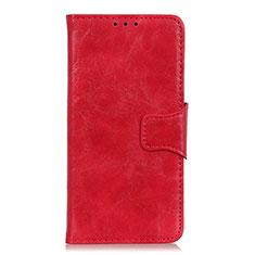 Handytasche Stand Schutzhülle Flip Leder Hülle für Oppo Reno3 A Rot