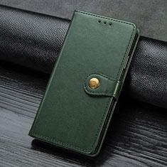 Handytasche Stand Schutzhülle Flip Leder Hülle für Samsung Galaxy A21s Grün