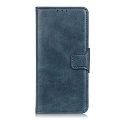 Handytasche Stand Schutzhülle Flip Leder Hülle für Sony Xperia 5 Blau