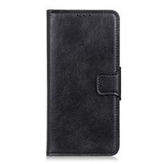 Handytasche Stand Schutzhülle Flip Leder Hülle für Sony Xperia 5 Schwarz