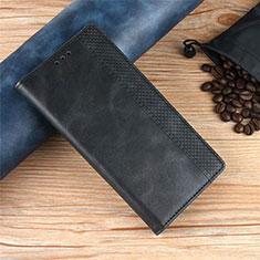 Handytasche Stand Schutzhülle Flip Leder Hülle für Xiaomi Poco X3 NFC Schwarz