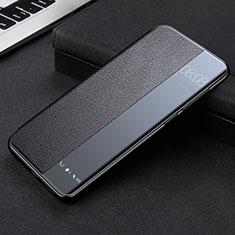 Handytasche Stand Schutzhülle Flip Leder Hülle K09 für Huawei Mate 40 Pro Schwarz