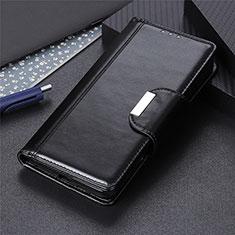 Handytasche Stand Schutzhülle Flip Leder Hülle L01 für Apple iPhone 12 Pro Schwarz