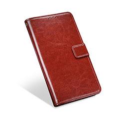 Handytasche Stand Schutzhülle Flip Leder Hülle L01 für Blackberry KEYone Braun