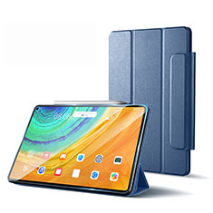 Handytasche Stand Schutzhülle Flip Leder Hülle L01 für Huawei MatePad Pro 5G 10.8 Lavendel Grau