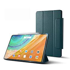 Handytasche Stand Schutzhülle Flip Leder Hülle L01 für Huawei MatePad Pro 5G 10.8 Nachtgrün