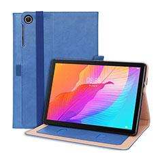 Handytasche Stand Schutzhülle Flip Leder Hülle L01 für Huawei MatePad T 10s 10.1 Blau