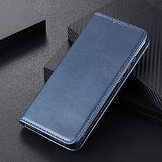Handytasche Stand Schutzhülle Flip Leder Hülle L01 für Huawei P Smart (2020) Blau