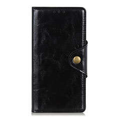 Handytasche Stand Schutzhülle Flip Leder Hülle L01 für Huawei Y8p Schwarz