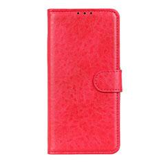 Handytasche Stand Schutzhülle Flip Leder Hülle L01 für LG K51 Rot
