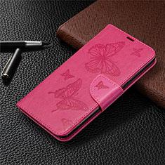 Handytasche Stand Schutzhülle Flip Leder Hülle L01 für LG K61 Pink