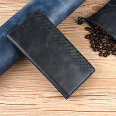Handytasche Stand Schutzhülle Flip Leder Hülle L01 für Motorola Moto One Zoom Schwarz