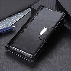 Handytasche Stand Schutzhülle Flip Leder Hülle L01 für Nokia 5.3 Schwarz