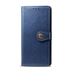 Handytasche Stand Schutzhülle Flip Leder Hülle L01 für Realme 5i Blau