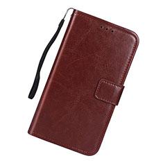 Handytasche Stand Schutzhülle Flip Leder Hülle L01 für Samsung Galaxy S10 Lite Braun