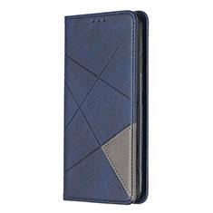 Handytasche Stand Schutzhülle Flip Leder Hülle L01 für Sony Xperia L4 Blau