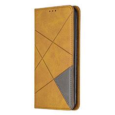Handytasche Stand Schutzhülle Flip Leder Hülle L01 für Sony Xperia L4 Gelb