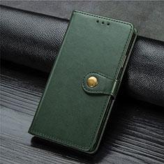 Handytasche Stand Schutzhülle Flip Leder Hülle L01 für Xiaomi Mi Note 10 Lite Grün