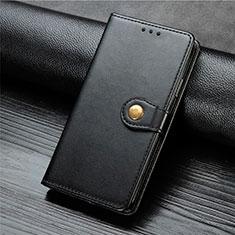 Handytasche Stand Schutzhülle Flip Leder Hülle L01 für Xiaomi Mi Note 10 Lite Schwarz