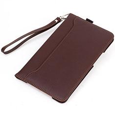 Handytasche Stand Schutzhülle Flip Leder Hülle L02 für Amazon Kindle 6 inch Braun