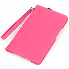 Handytasche Stand Schutzhülle Flip Leder Hülle L02 für Amazon Kindle 6 inch Pink