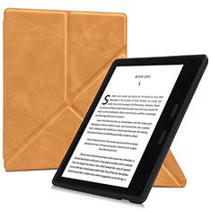Handytasche Stand Schutzhülle Flip Leder Hülle L02 für Amazon Kindle Oasis 7 inch Orange