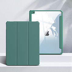 Handytasche Stand Schutzhülle Flip Leder Hülle L02 für Apple iPad 10.2 (2020) Grün