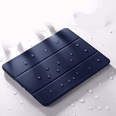 Handytasche Stand Schutzhülle Flip Leder Hülle L02 für Apple iPad Pro 12.9 (2020) Blau