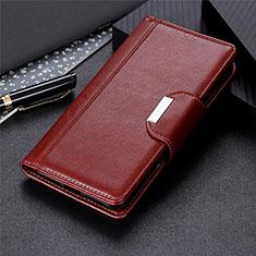 Handytasche Stand Schutzhülle Flip Leder Hülle L02 für Huawei Honor 30S Braun