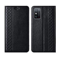 Handytasche Stand Schutzhülle Flip Leder Hülle L02 für Huawei Honor X10 Max 5G Schwarz