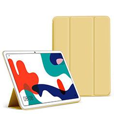 Handytasche Stand Schutzhülle Flip Leder Hülle L02 für Huawei MatePad 10.4 Gelb