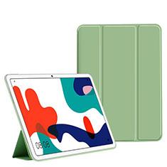 Handytasche Stand Schutzhülle Flip Leder Hülle L02 für Huawei MatePad 10.4 Grün