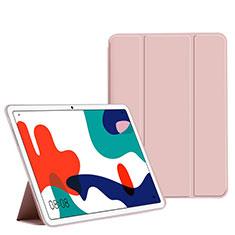 Handytasche Stand Schutzhülle Flip Leder Hülle L02 für Huawei MatePad 5G 10.4 Rosa