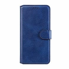 Handytasche Stand Schutzhülle Flip Leder Hülle L02 für Motorola Moto E6s (2020) Blau