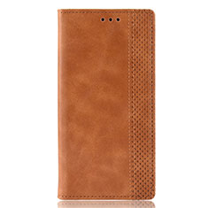 Handytasche Stand Schutzhülle Flip Leder Hülle L02 für Motorola Moto Edge Plus Orange