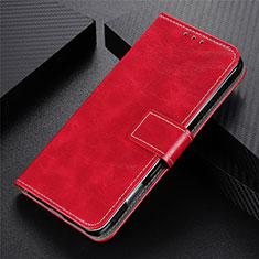 Handytasche Stand Schutzhülle Flip Leder Hülle L02 für Motorola Moto G9 Power Rot