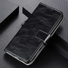 Handytasche Stand Schutzhülle Flip Leder Hülle L02 für Motorola Moto G9 Power Schwarz