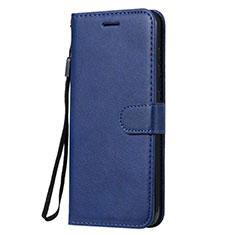 Handytasche Stand Schutzhülle Flip Leder Hülle L02 für Nokia 7.2 Blau
