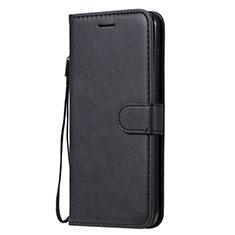 Handytasche Stand Schutzhülle Flip Leder Hülle L02 für Nokia 7.2 Schwarz
