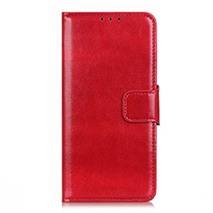 Handytasche Stand Schutzhülle Flip Leder Hülle L02 für Oppo Reno4 4G Rot