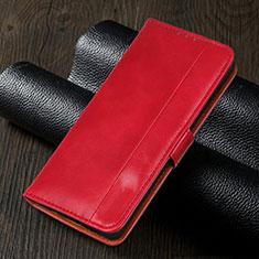 Handytasche Stand Schutzhülle Flip Leder Hülle L02 für Realme 5i Rot