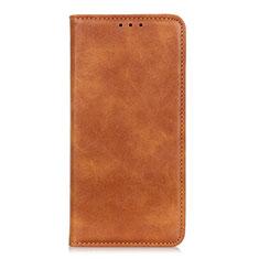 Handytasche Stand Schutzhülle Flip Leder Hülle L02 für Samsung Galaxy A01 Core Orange