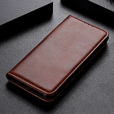 Handytasche Stand Schutzhülle Flip Leder Hülle L02 für Samsung Galaxy A31 Braun